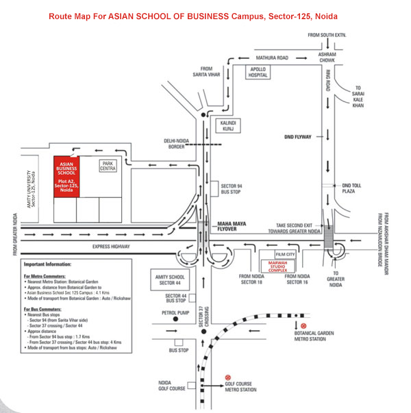 ABS Route Map
