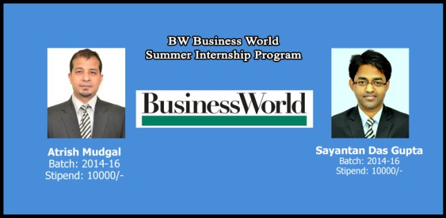 BW Business World – Summer Internship Program