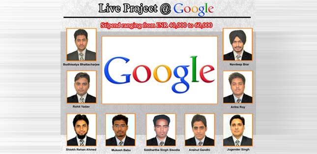 Live Project @ GOOGLE