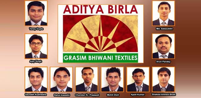 10 Asianites Rewarded and Recognized by Grasim Textiles Ltd.