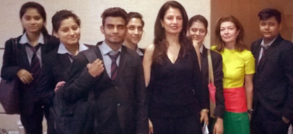 Ritu Beri With Asianites In Aima