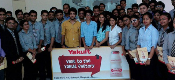 Asian Education Group Organises Industrial Visit to Yakult Danone India pvt. ltd.