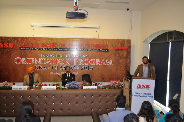 Orientation Program @AEG