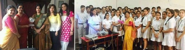 Asian Education Group's CSR Initiative @ DPS Panipat