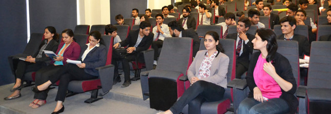 "Marketing Club, organized a very interesting activity called ""Marketing Mosiac"" @ BBA"