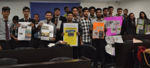 Buzz Media Club Organised Activity for BBA & BCA Students on 27th September 2017
