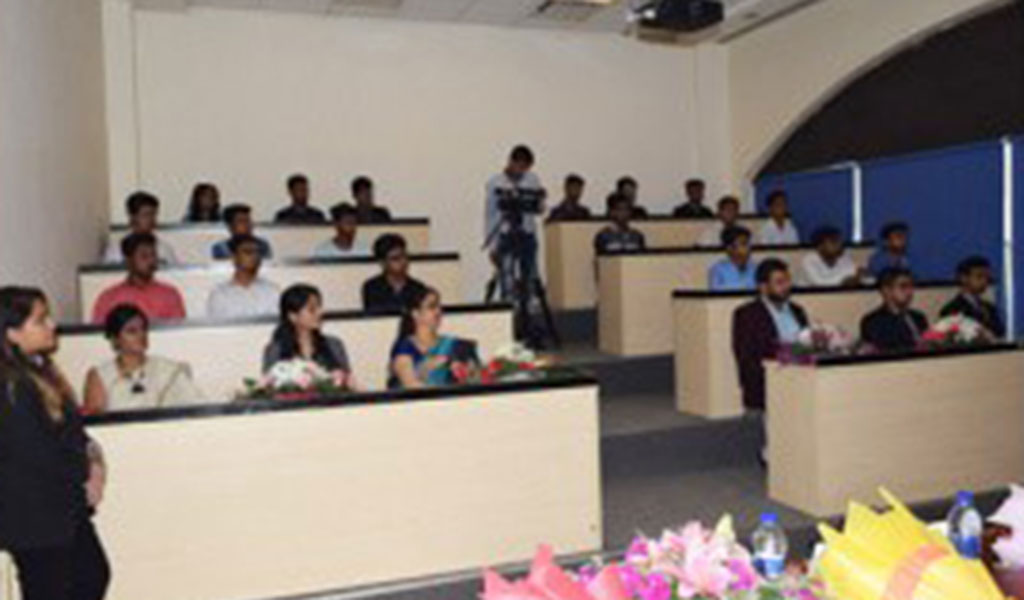 Guest Lecture by Mr. Harish Manana, Sr. Consultant NIIT Ltd