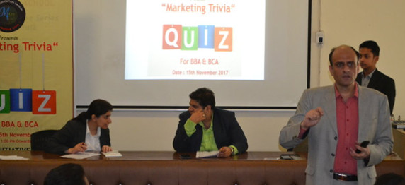 MarkTechos, the Marketing Club at ASB organised Marketing Trivia on 15th November 2017
