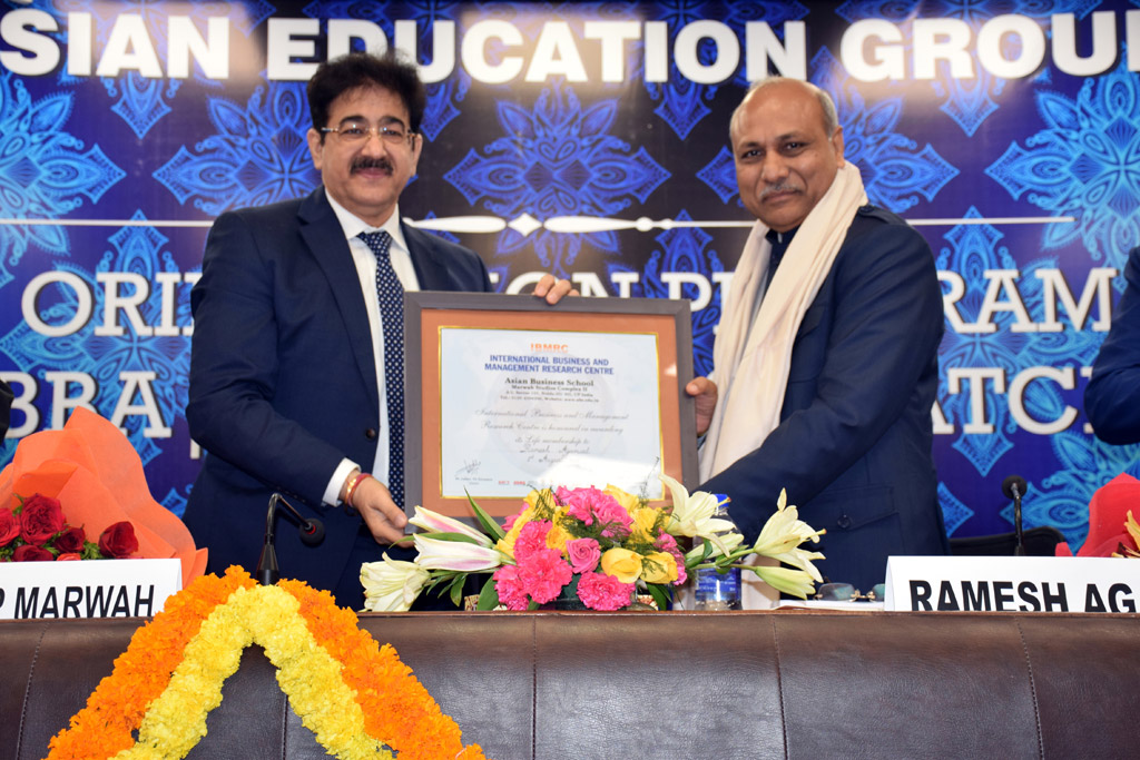 ASB BBA-BCA Orientation Programme 2018: Shree Ramesh Agarwal