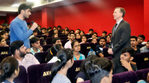 Asian School of Business, ABS, guest Lecture, Entrepreneurial Research, Dr. Cliff Zintgraff