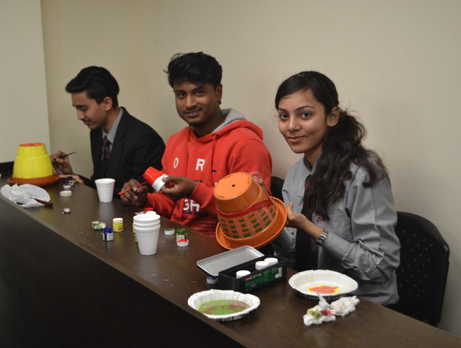 Prakriti Club (Environment Club at ASB) Activity and Plantation Drive at Asian School of Business