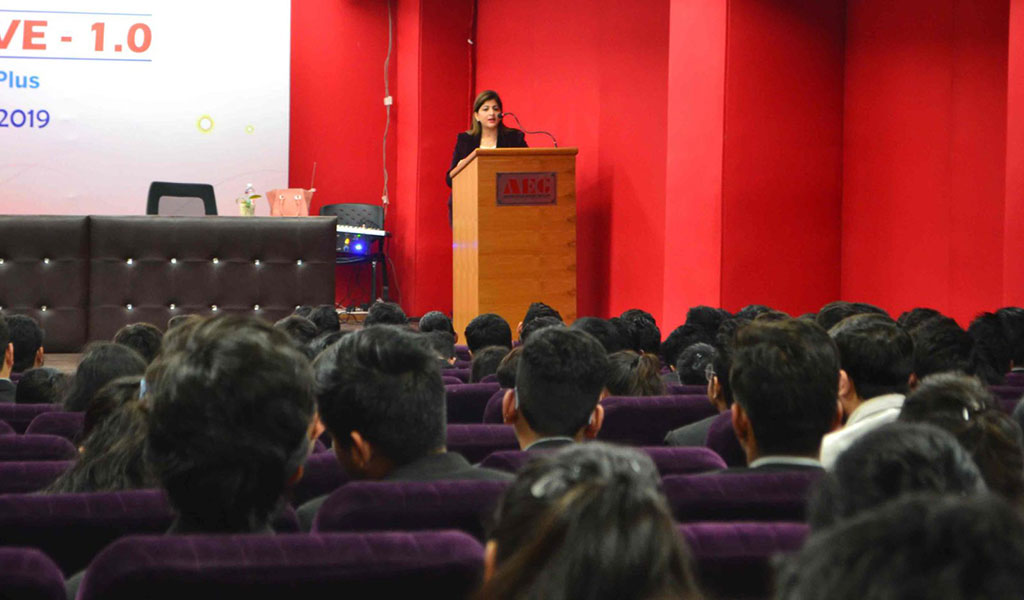Distinguished Guest Lecture Series – Ms. Meenakshi Khera