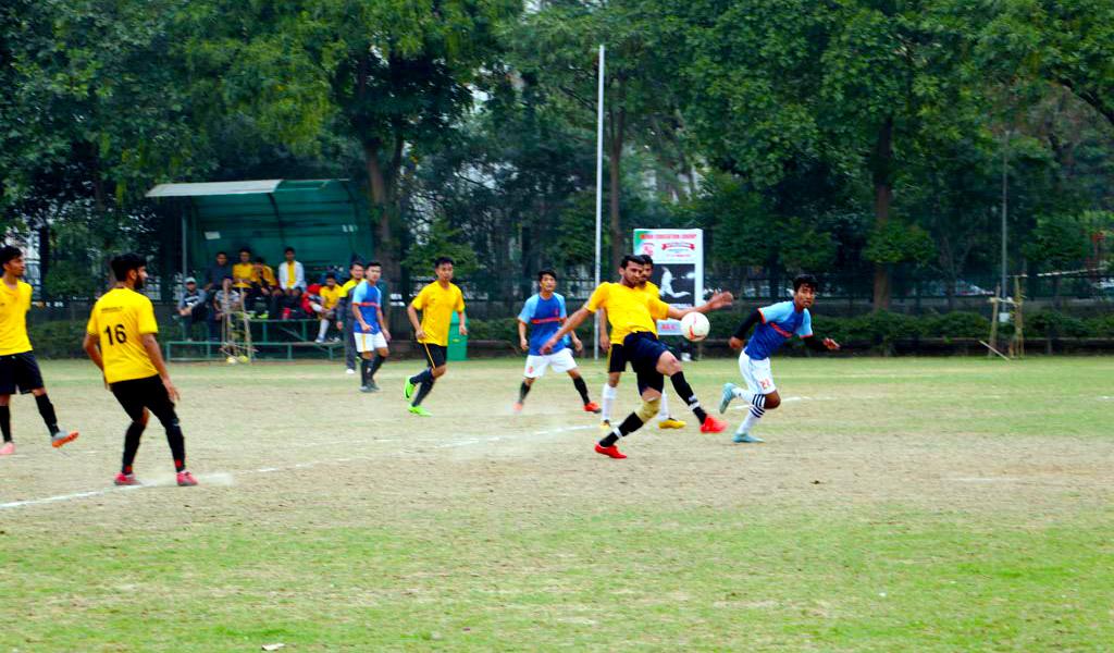 Football: ASB Inter-College Sports Meet, ATHLEEMA 2019