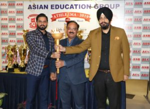 Asian Education Groups 7th annual sports extravaganza ATHLEEMA 2019 turns out a spectacular success. Team Asian Business School did well during the inter college sports meet.