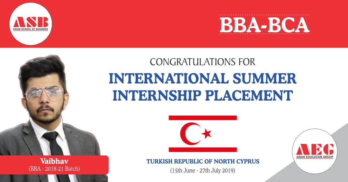 Vaibhav Batra: International Summer Internship @ Turkish Republic of North Cyprus
