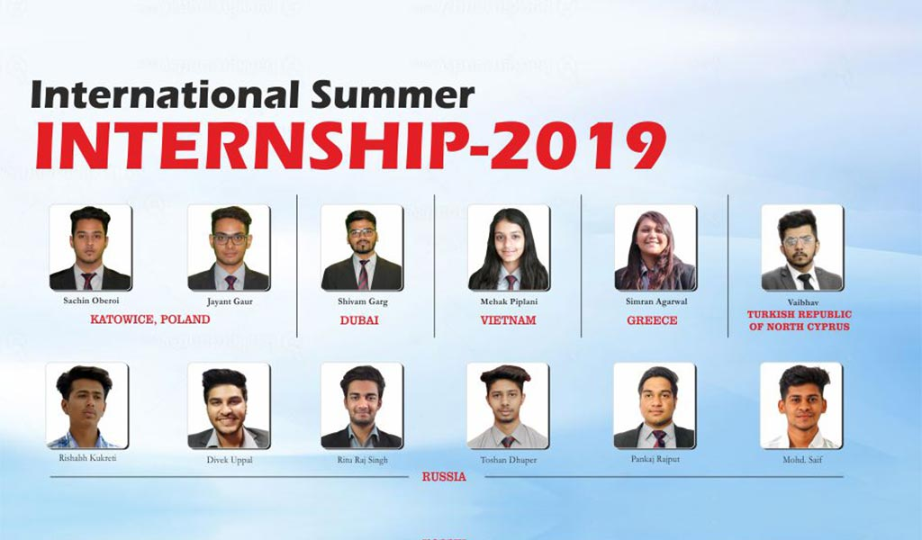 9 ASB students offered International Summer Internships