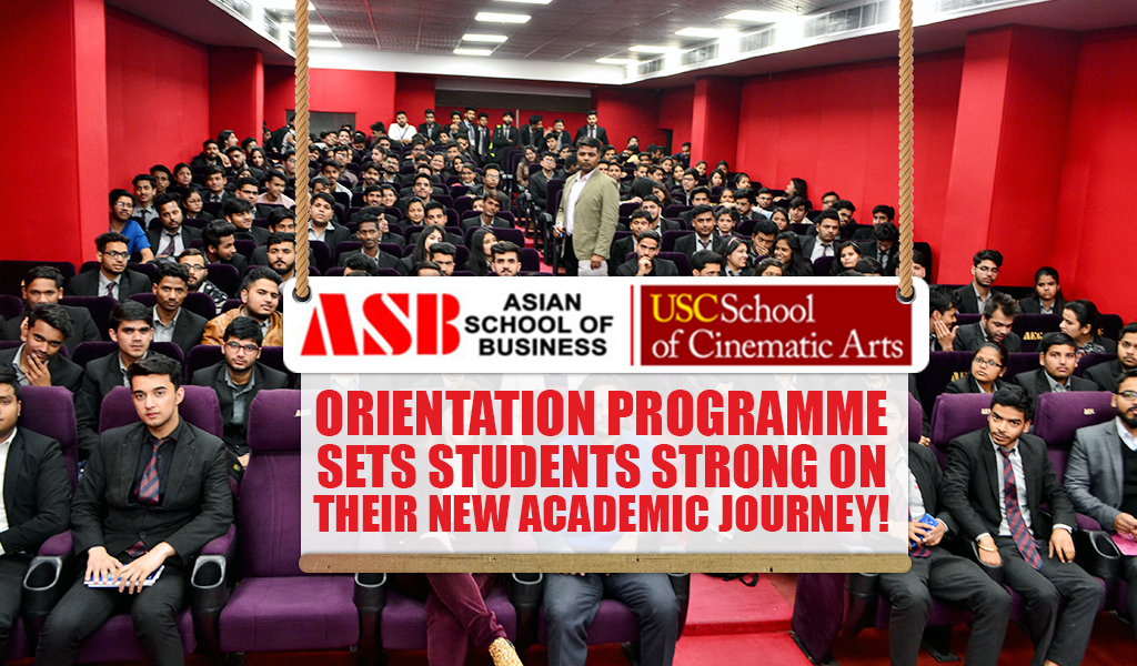 Orientation programme sets students strong on their new academic journey!
