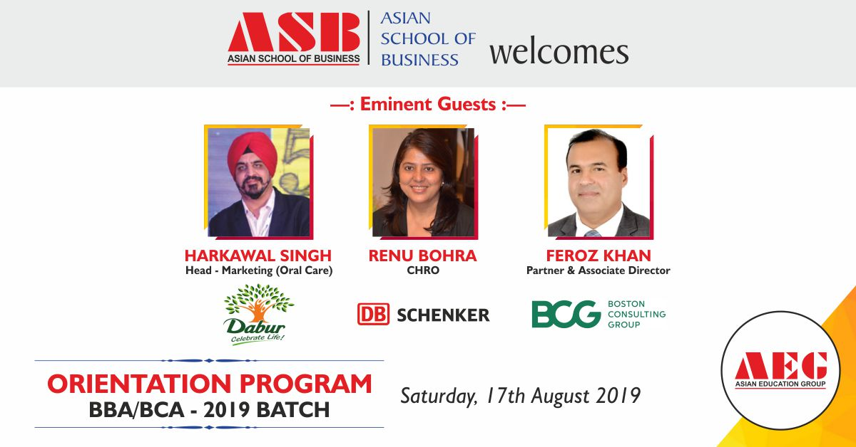 ASB BBA & BCA Orientation 2019