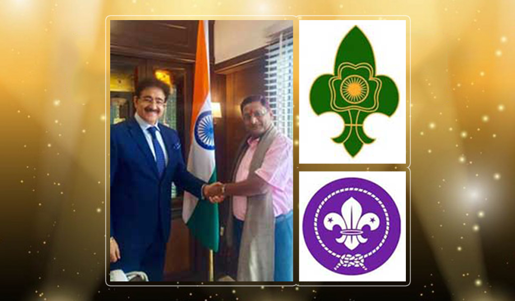 President-AEG Asian School of Business, Dr. Sandeep Marwah gets nominated as 'Chief Scout of India' by Department of Scouts and Guides!