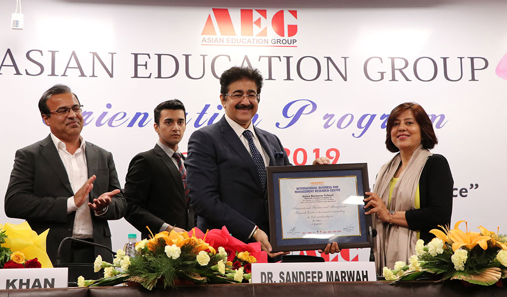 ASB Orientation 2019: Ms. Renu Bohra