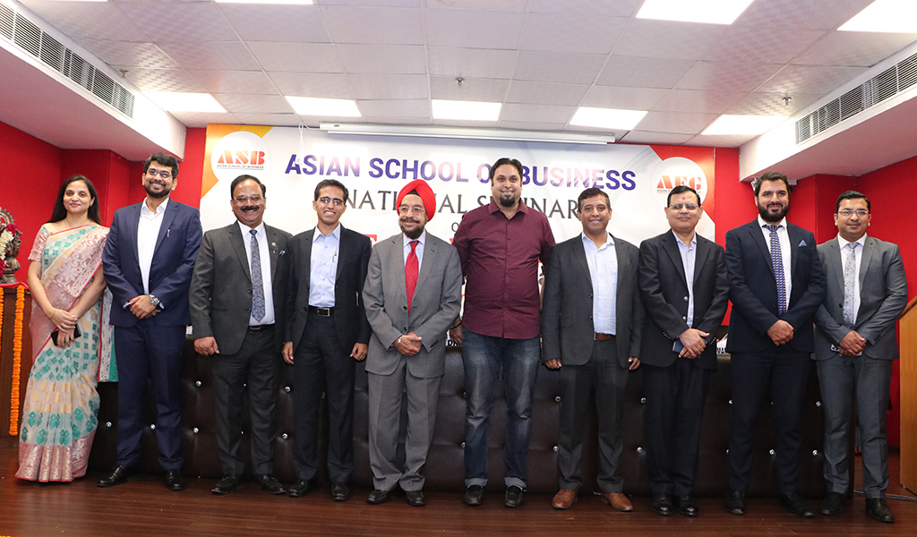 "National Seminar on – ""Gig Economy – Redefining the Organizations"" at ASB Concludes on a High Note of Knowledge!"