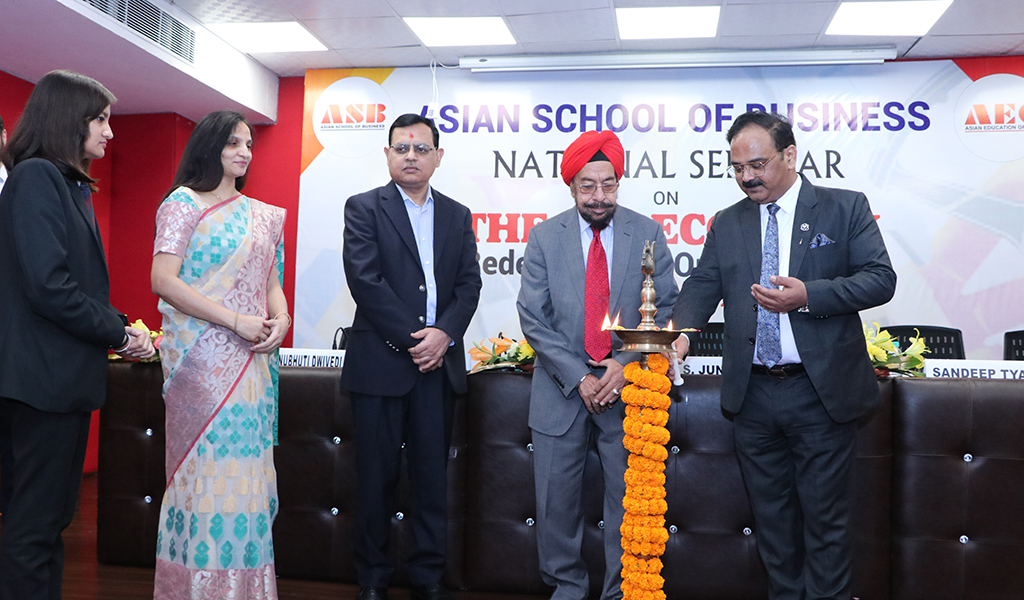 "Asian School of Business holds a high-pitch National Seminar on ""Gig Economy-Redefining the Organizations"""