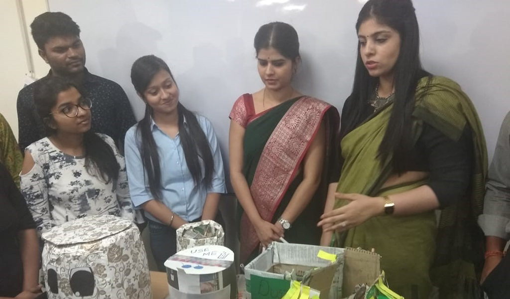 "Prakriti Club Organizes Pro-Environment Activity – ""Emotibin Competition"""