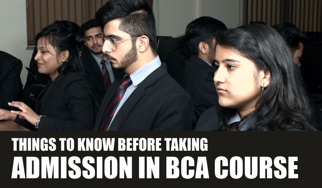 Things to Know Before Taking Admission in BCA Course