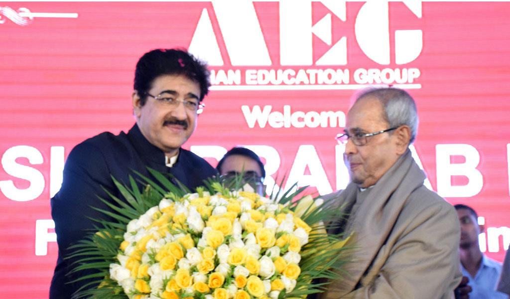 Shri. Pranab Mukherjee @ Asian School of Business