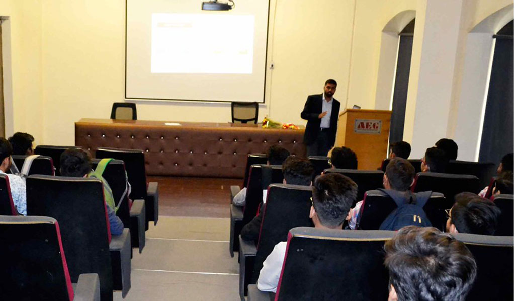 ASB Distinguished Lecture Series – Mr. Srinivas Reddy P