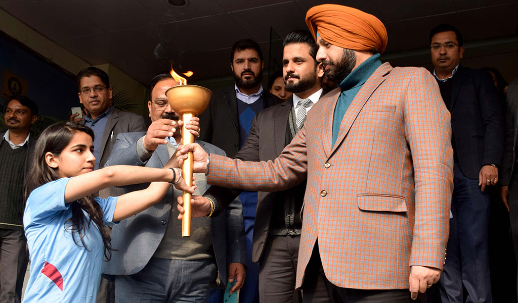 Annual Inter-college Sports Meet Flags Off at Asian School of Business