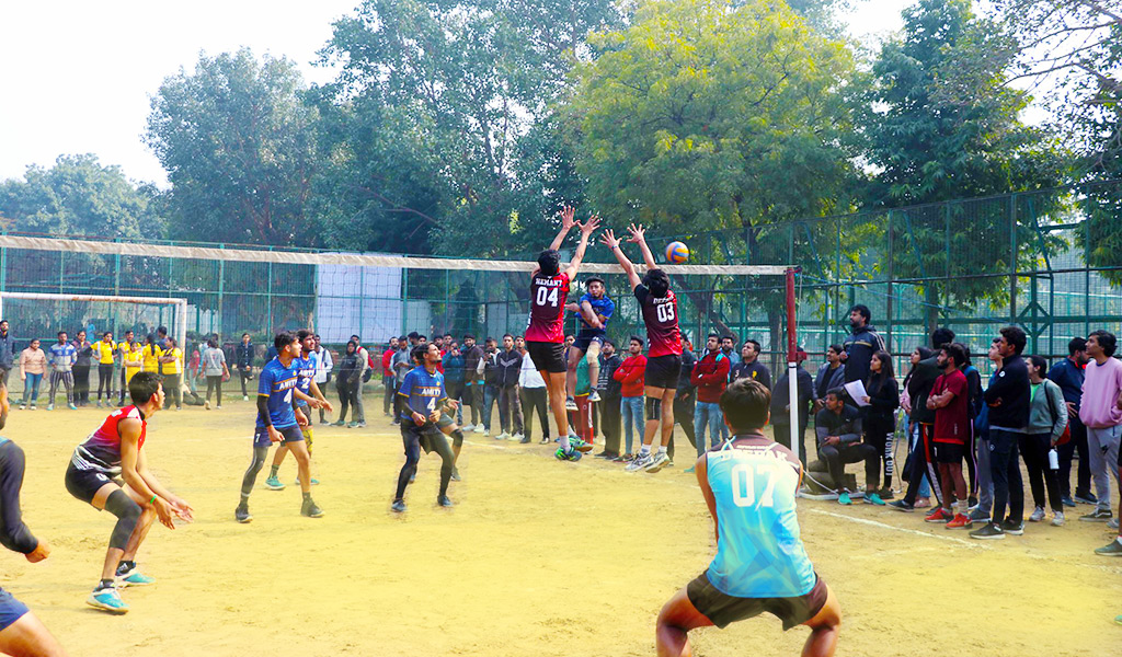Volleyball : ASB Annual Inter-College Sports Meet, ATHLEEMA 2020
