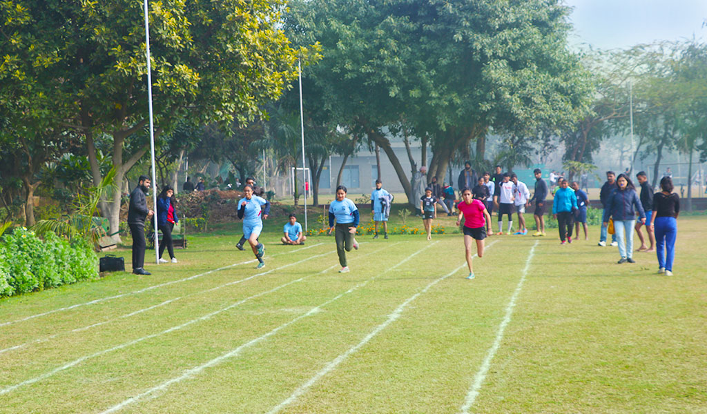 Track & Field – 100 Metre Race: ASB Annual Inter-College Sports Meet, ATHLEEMA 2020.