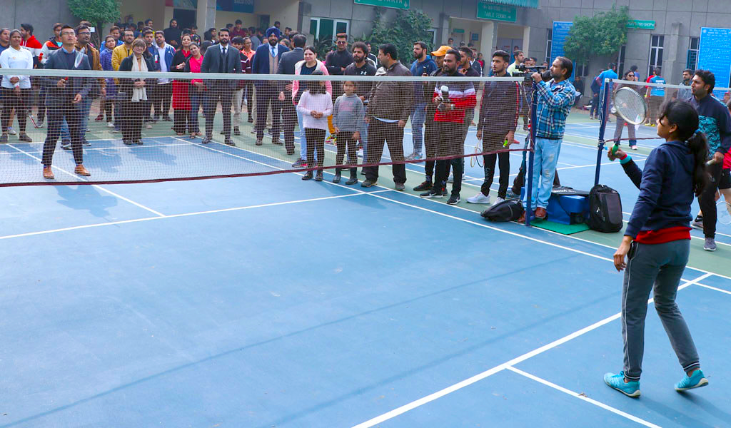 Badminton: Annual Inter-College Sports Festival, ATHLEEMA 2020