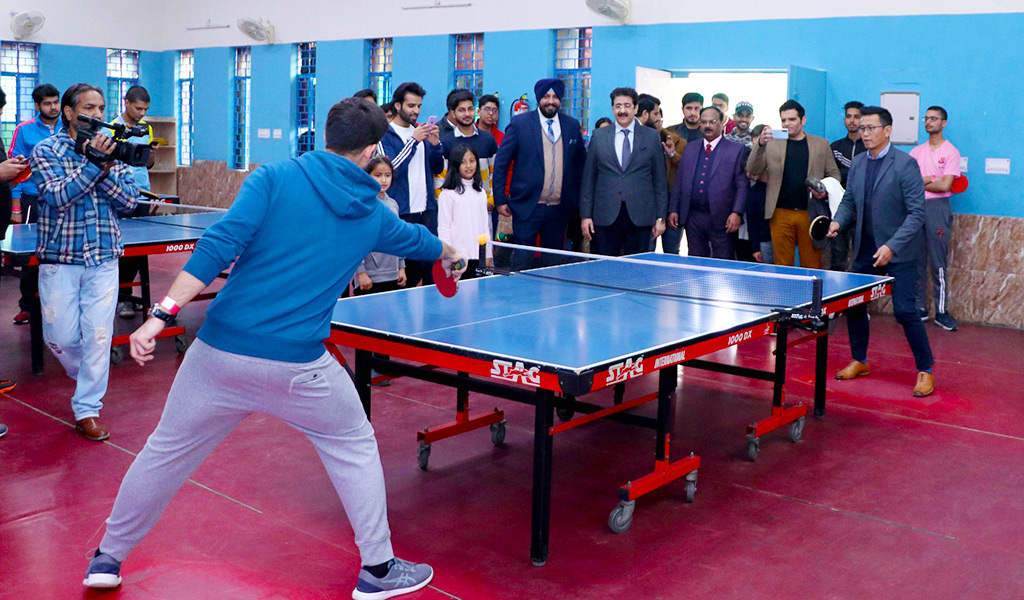 Table Tennis: ASB Annual Inter-College Sports Meet, ATHLEEMA 2020