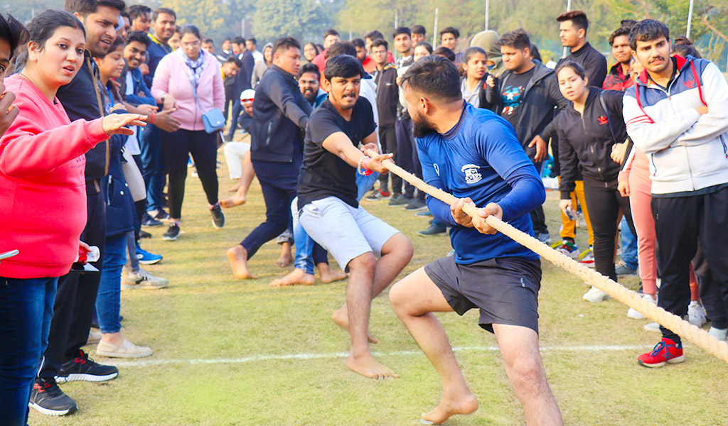 Tug-O-War : ASB Annual Inter-College Sports Meet, ATHLEEMA 2020.