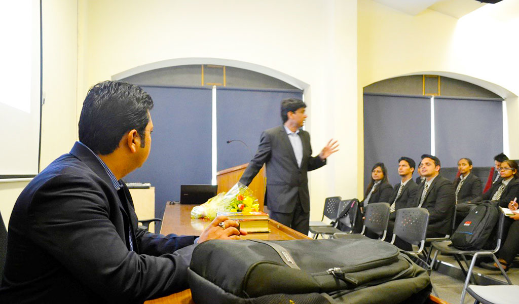 Guest Lecture by B. D. Nathani, Advisor, Hello Ten Brands (P) Ltd