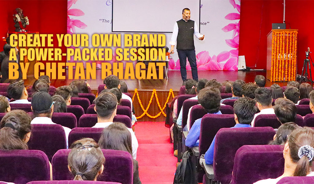 Guest Lecture by Mr. Chetan Bhagat