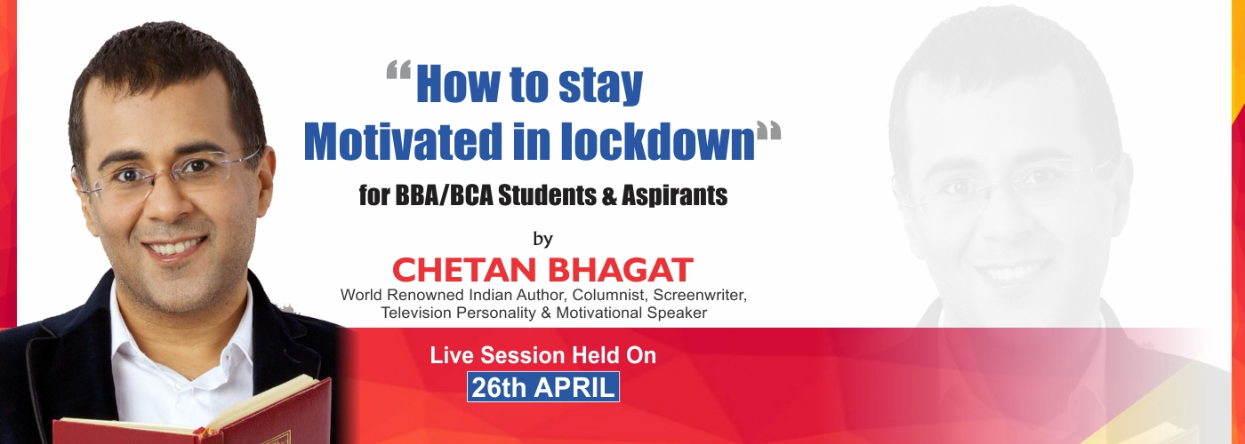 Chetan Bhagat at ASB Noida