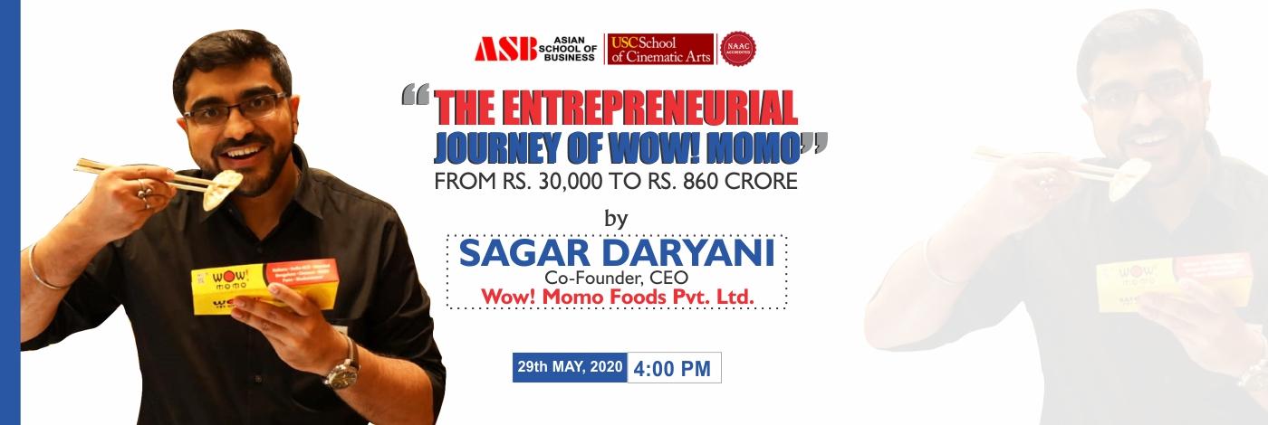 Sagar Daryani-at-ASB-Noida