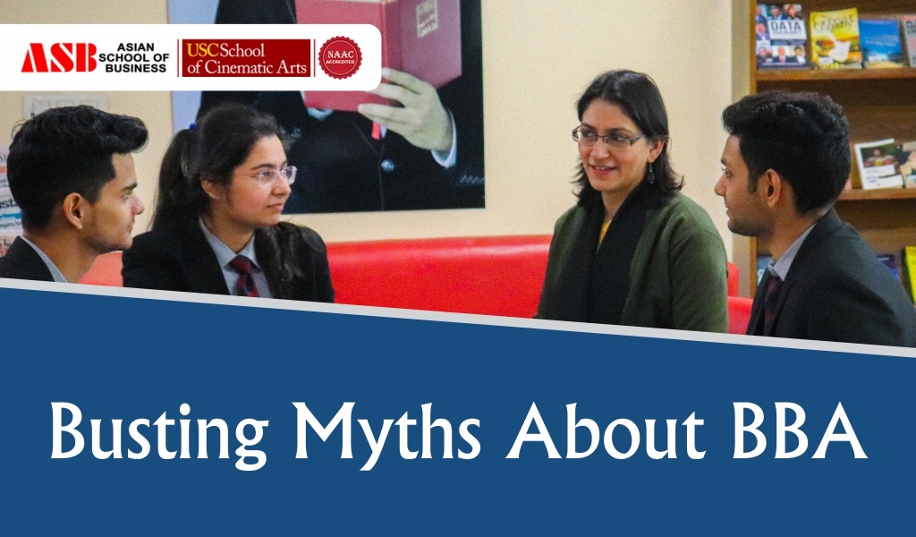 Myths About BBA Course Which Are Just Not True!