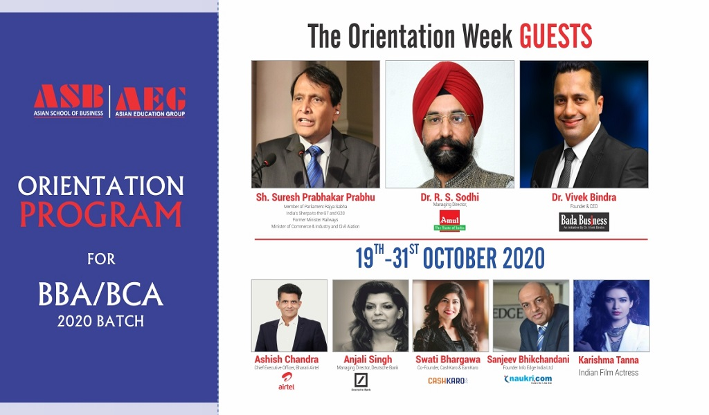Asian School of Business BBA & BCA Orientation Programme 2020