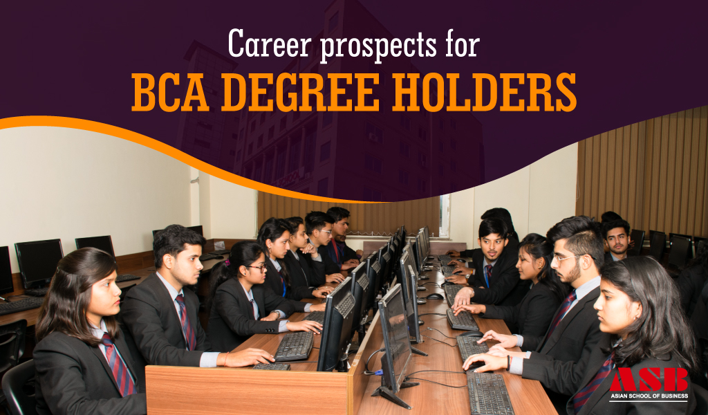 Top career prospects for BCA degree holders