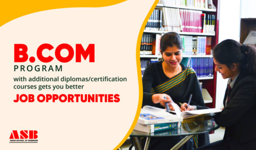 B. Com, Asian School of Business, ASB, Additional Diplomas / Certification Courses
