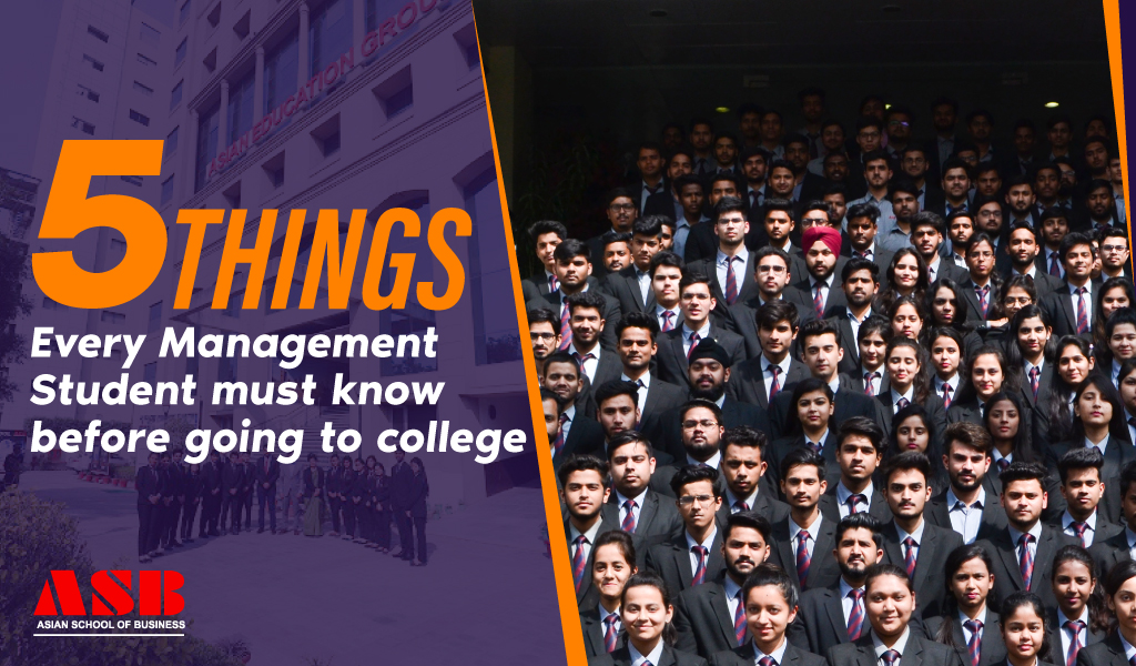 5 Things Every Management Student must know before going to college