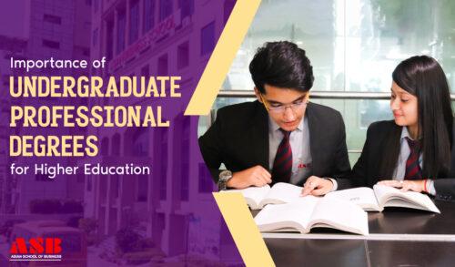undergraduate professional degrees